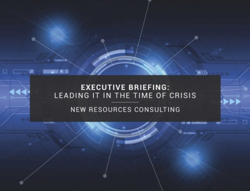 Leading IT in the Time of Crisis